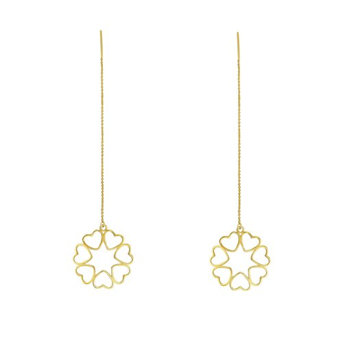 Love lace hanging earrings ORLAYA