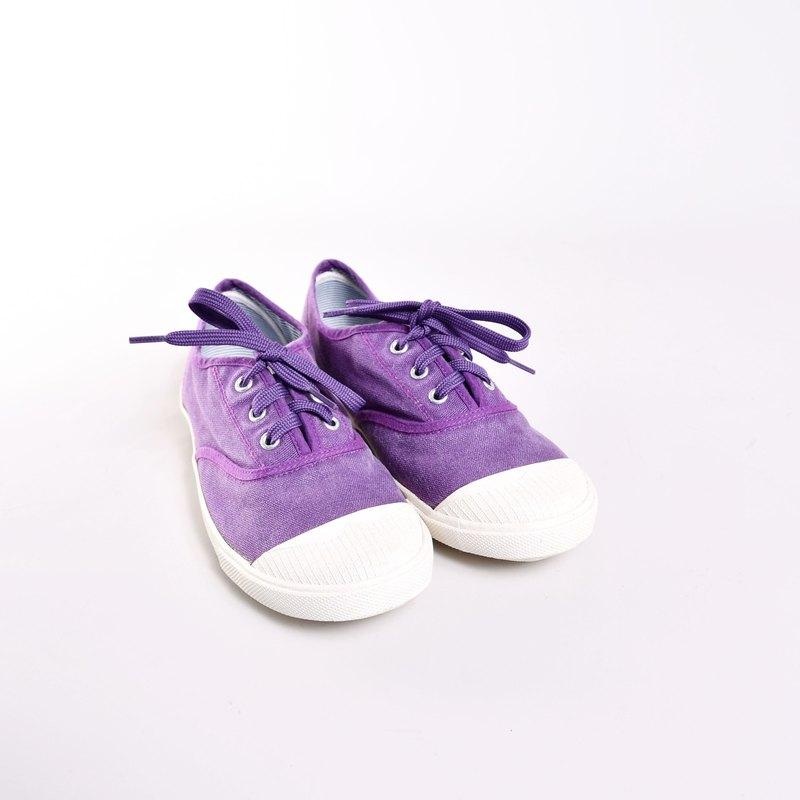出清品 休閒鞋-KARA 葡萄紫 零碼優惠 鞋邊及鞋底有輕微污漬