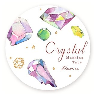 Crystal gem crystal paper tape