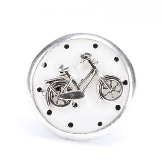 [Taratata Paris, France Cycling Series Ring] handmade jewelry brand bicycle bike cold enamel paint European style handmade jewelry