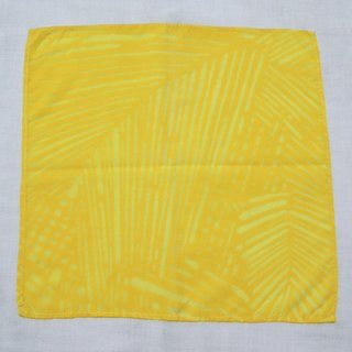 Mumu [vegetation] turmeric vegetable dyes yellow dye cloth handkerchief Ti