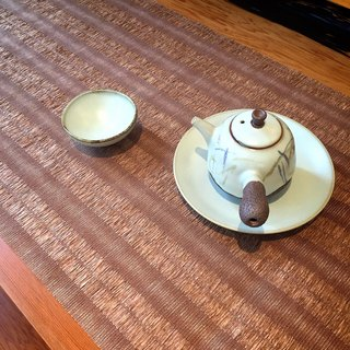 Taiwan's design featured high Wo tea ceremony brown paper