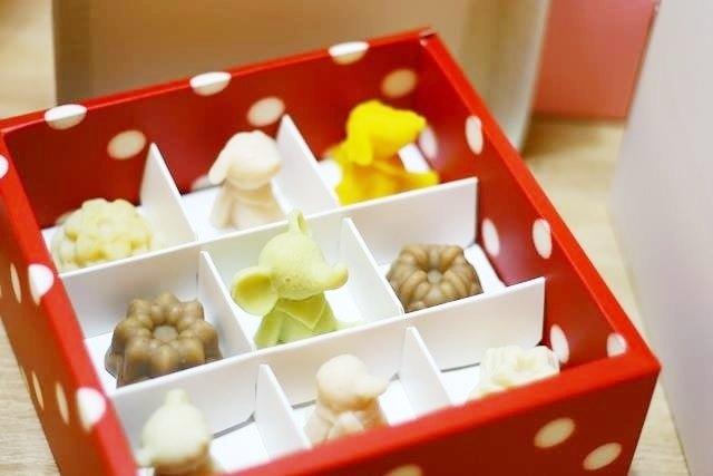 ||製皂工人手工皂禮盒|| 可愛小物皂(九入)