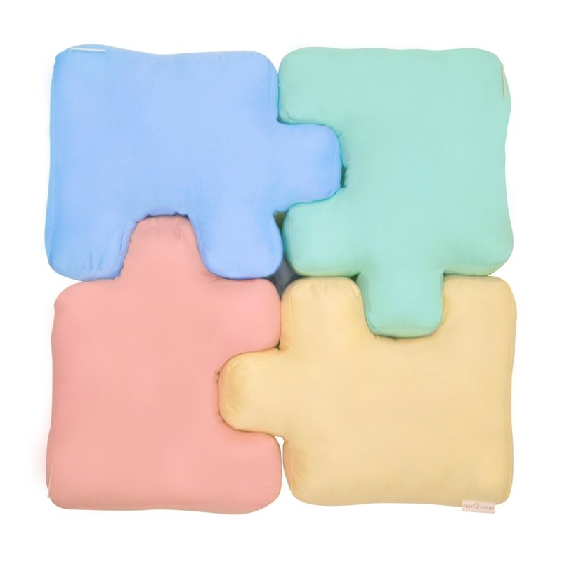 Birthday Gift - Funny Puzzle Pillow - Powder (瑕疵出清)