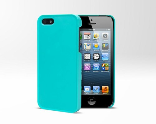 SIMPLE 5 - iPhone 5 Case - Blue [coming out of print]