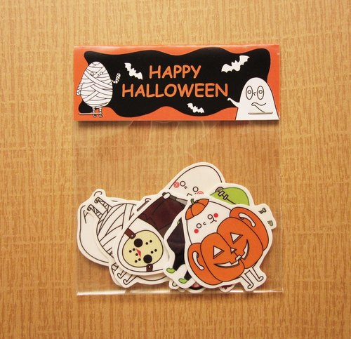 Mr. Egger Halloween Edition Stickers