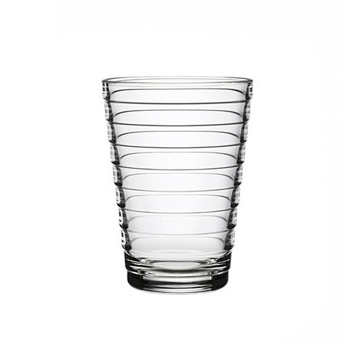 330cc [MSA] want to drink the (transparent) Northern Europe and Finland iittala Aino Aalto ripples Cup lead-free crystal glass crystal glass sculpture