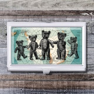 Arctic Violent Bear - Business Card Holder / Card Case / Office Worker Accessories [Special U Design]