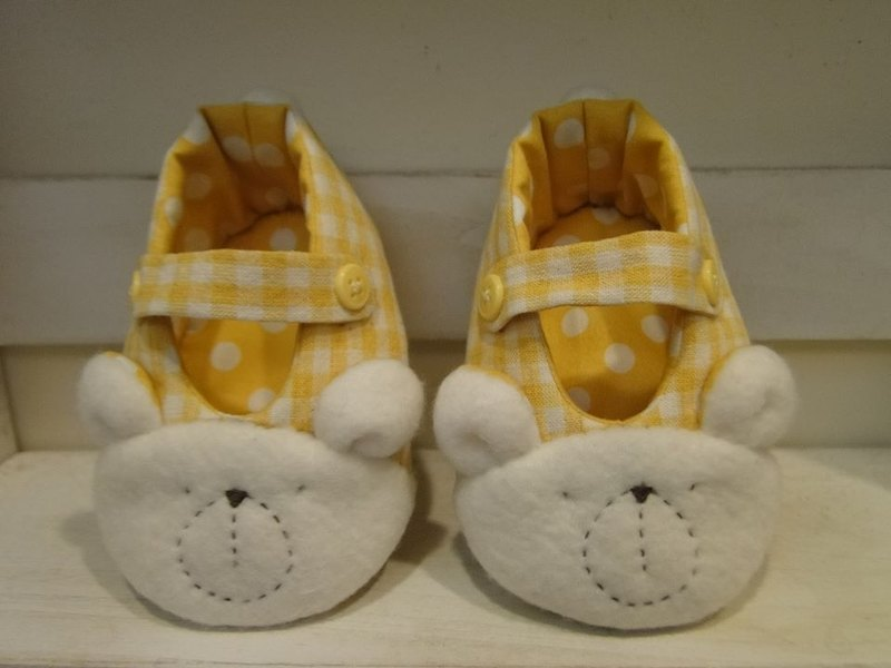 Baby Bear Hand-made baby shoes