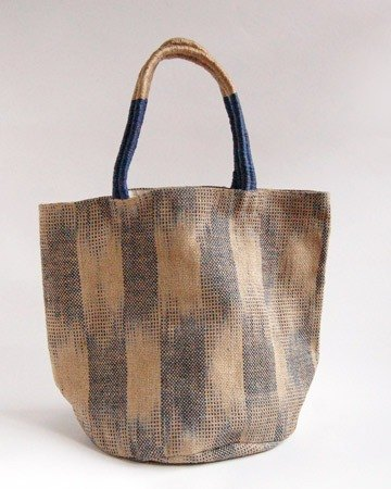"Earth tree fair trade & amp; eco- ""sack Series"" - hand-knitted blue-veined shoulder / hand sacks"