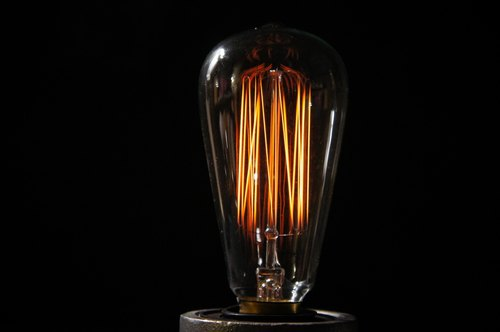 Edison-industry industrial wind Edison bulb ST64 fireworks retro styling