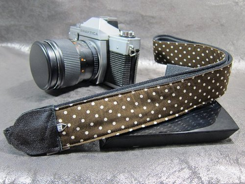 """Coffee little bit"" decompression belt camera u Keli Li Camera Strap"