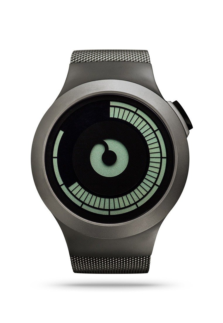 <Electronic luminous display> Universe Saturn watches SATURN (Bronze / Gunmetal)
