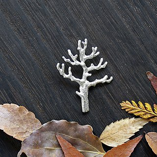 The key of the tree pendant necklace