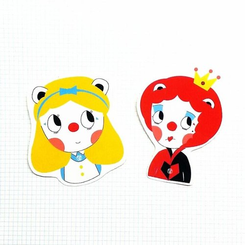 Sticker .Alice Combo Pack