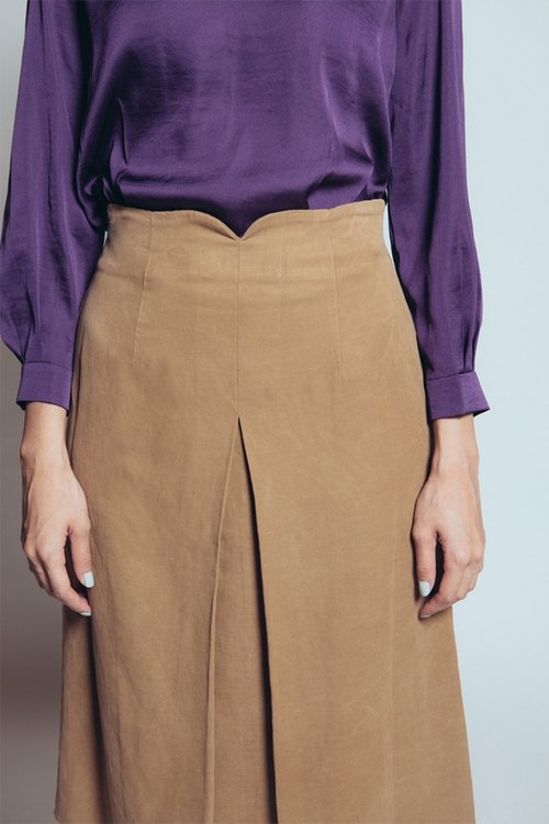 Belle Epoque Skirt (Brown)