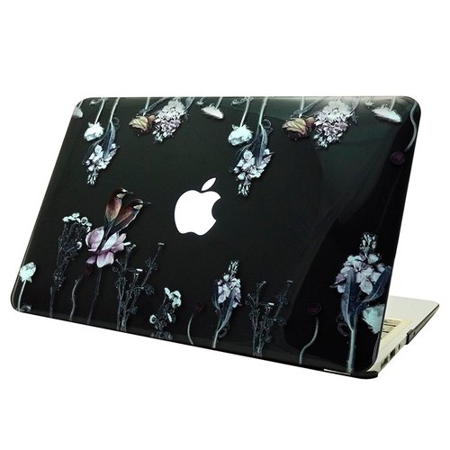 "Hand-painted love series - love is free - Ying Xuan ""Macbook Pro / Air 13-inch special"" crystal shell"