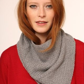 Cashmere Snood –Gray