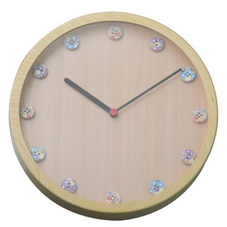 Special - one different pattern clock (plastic)