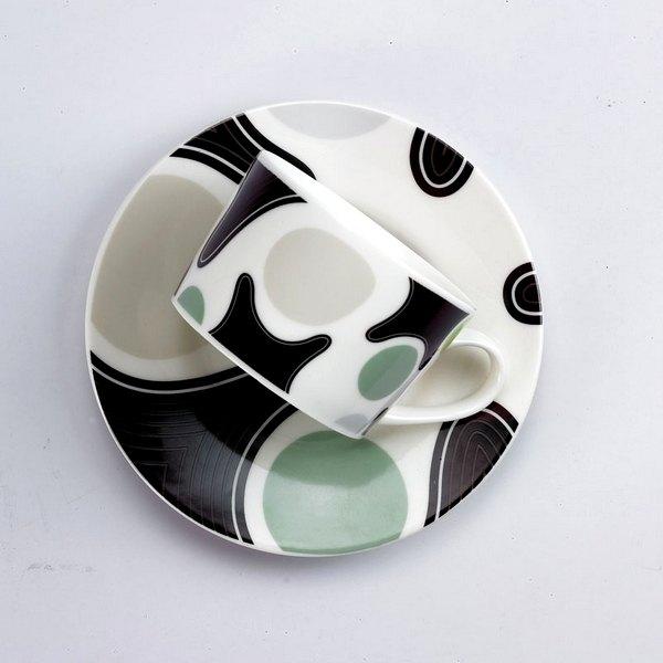 ★水玉點點控★TAISO 普普風咖啡杯組-紳士綠