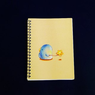 Oaklets led Stars Notebook