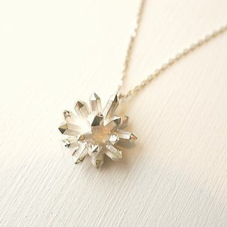 (Radial) crystal crystal necklace jewelry design