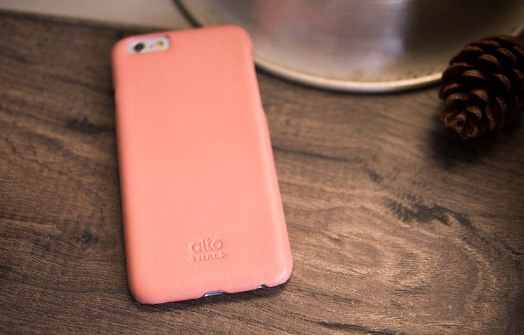 best sneakers 68019 67519 [Slight defective] alto iPhone 6 Plus / 6S Plus leather case back cover,  Original - pink leather case Leather Case