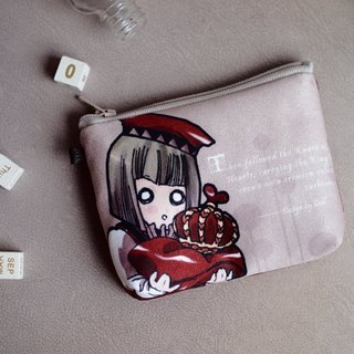 ZoeL * Mezzanine purse * J * Red Poker Alice Alice own illustration