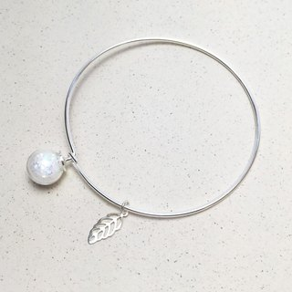 △ sequined satin fine glass beads bracelet - innocent girl (bracelet pendant removable)