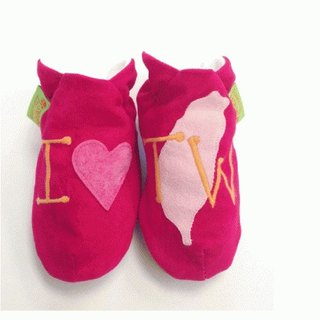 [British handmade shoes FunkyFeet Fashions] love Taiwan hotpink toddler shoes