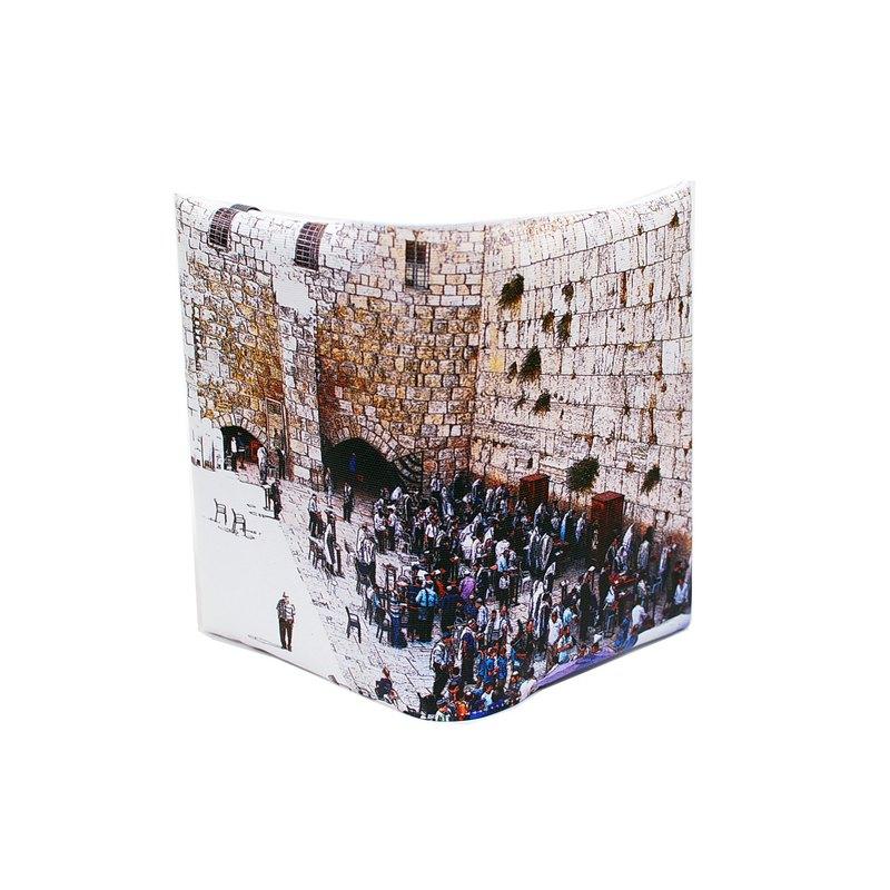 禱告。以色列西牆---訂製聖經套/書套