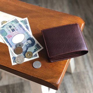 革職人 LEATHER FACTORY【ARIZONA Fold Wallet / Coin Wallet】Made in Japan