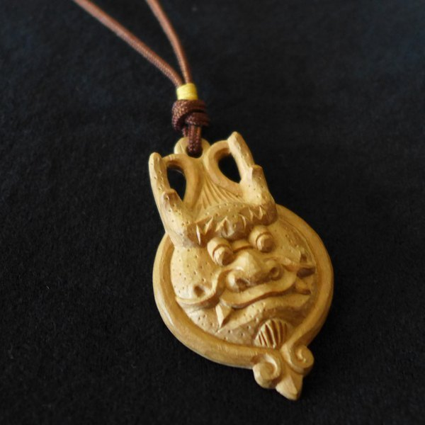 ㊣ India Laoshan sandalwood carvings --- Long necklaces