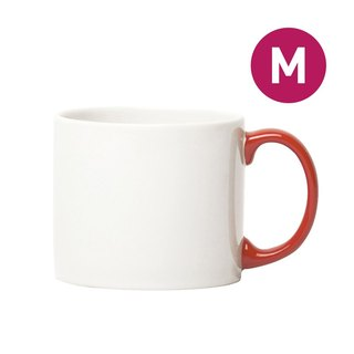 Jansen + co Toning Cup M - White + Red