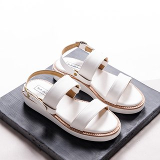 Double Shot Sandals Shoes - Titanium white