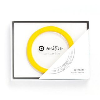 [Artificer] RHYTHM Rhythm Bracelet - Yellow