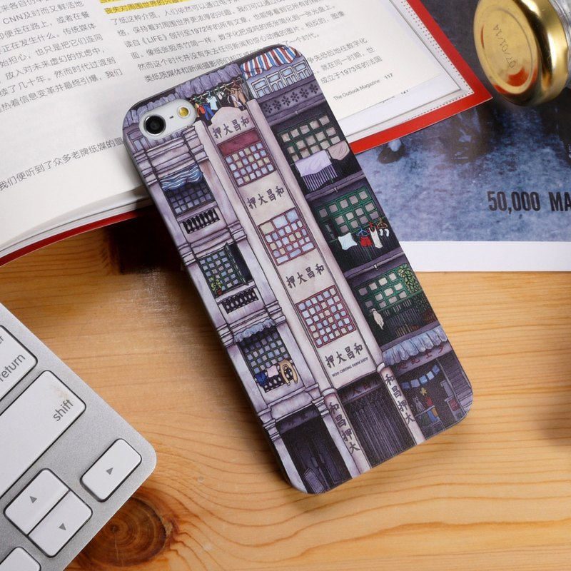 Hong Kong Style Color 1 Print Soft / Hard Case for iPhone X,  iPhone 8,  iPhone 8 Plus, iPhone 7 case, iPhone 7 Plus case, iPhone 6/6S, iPhone 6/6S Plus, Samsung Galaxy Note 7 case, Note 5 case, S7 Edge case, S7 case