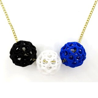 3D printing accessories necklace - three-dimensional printing x Heart Balls