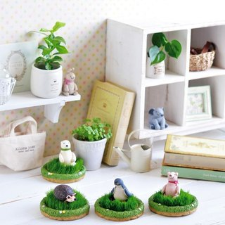 ZOONY GARDEN animal potted plant / golf grass
