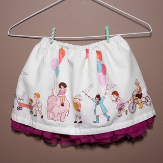 Summer Carnival Summer parade skirt