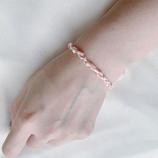 Light you up fine cotton candy bracelet (lemon / strawberry powder)
