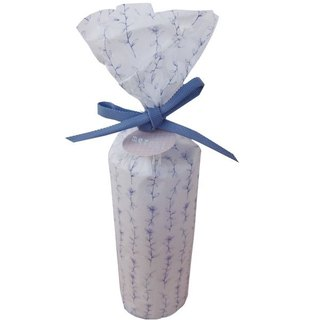 WRAPPING PAPER-BLUE DAZE PAINTING-BLUE