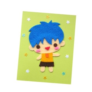 Handmade Card Universal Card _ Character Doll F... Birthday Card, Valentine Card, Thank You Card