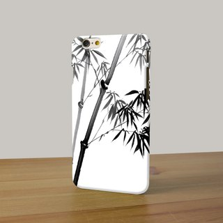 Chinese painting ink bamboo 3D Full Wrap Phone Case, available for  iPhone 7, iPhone 7 Plus, iPhone 6s, iPhone 6s Plus, iPhone 5/5s, iPhone 5c, iPhone 4/4s, Samsung Galaxy S7, S7 Edge, S6 Edge Plus, S6, S6 Edge, S5 S4 S3  Samsung Galaxy Note 5, Note 4, Not