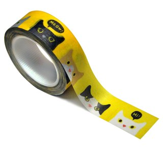 Peeping Cat Masking Tape
