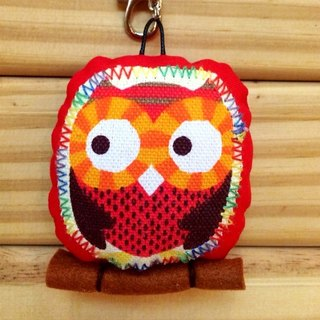 RABBIT LULU guardian owl, One color positive energy embroidered name