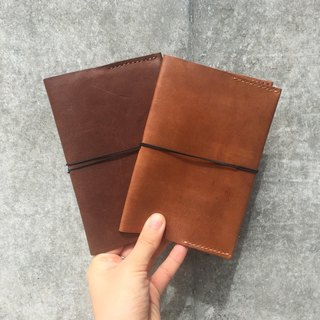Muji A6 notebook leather cover