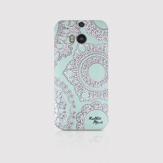 (Rabbit Mint) Mint Rabbit Phone Case - Mint Straight Lace Series - HTC One M8 (P00016)