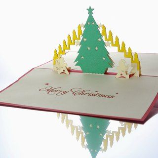 3D Christmas Pop-up Card