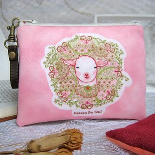 <Animals in the Secret Land> Proud Sheep big size coin purses ( big size)